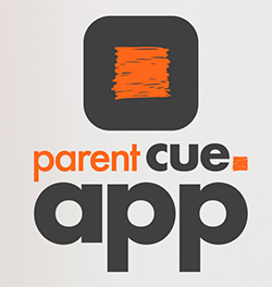 Parent Cue app logo. Do family better